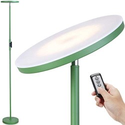 Floor Lamp-Joofo LED Floor Lamp with 3 Color Tempearatures&Stepless Dimming ,2400 Lumens,Adjustable Floor Standing Light with Remote for Living Room Bedroom Office (Avocado Green)