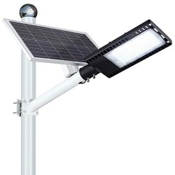 150W LED Solar Street Lights, Solar Flood Lights Outdoor Dusk to Dawn with Remote Control, 9200 Lumens Waterproof Solar Security Light for Yard, Garden, Pathway (Mounting Bracket Included)
