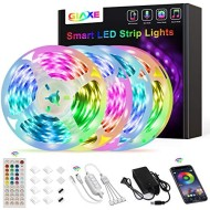 65.6ft/20M Led Strip Lights,GIAKE Led Lights Ultra Long Smart Music Sync Color Changing RGB LED Light Strips APP Controll with Remote LED Lights for Bedroom Party Kitchen Home Decoration